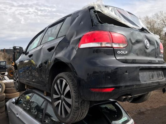 VW wreckers parts